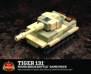 Tiger 131 - Micro Brick Battle Game Piece